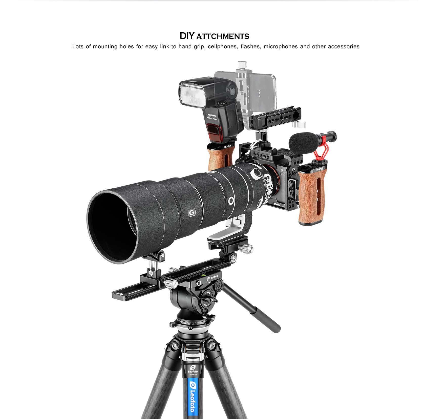 A7R4, SONY相機專用,兔籠套件