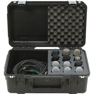 SKB 3I-2011-MC12 i系列麥克風氣密箱(12支)
